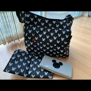 Disney Baby Mickey Mouse Diaper Bag, NWOT